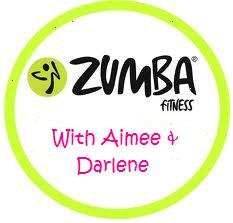 Zumba, fitness, aimee and darlene